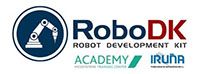 We use RoboDK for simulation and offline programming of industrial robots.